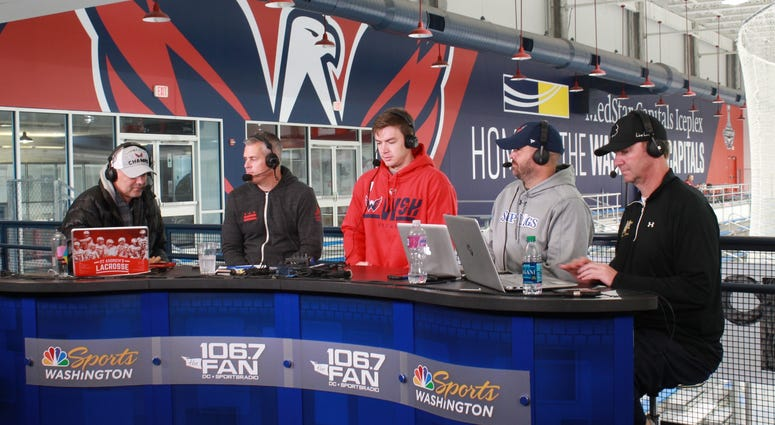 The Sports Junkies interview Phoenix Copley,  American ice hockey goaltender for the Capitals.