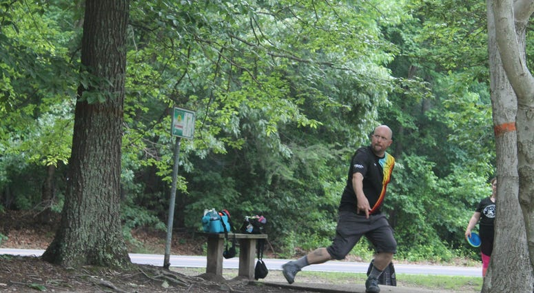 106.7 The Fan Presents: Chad Dukes Disc Golf Classic at Pohick Bay Regional Park in Lorton, VA.