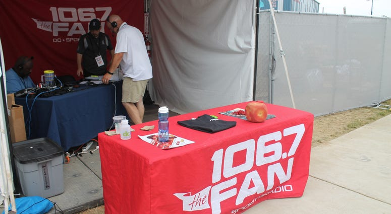 106.7 The Fan joins in the MLB All-Star week fun at Play Ball Park behind Nats Park.