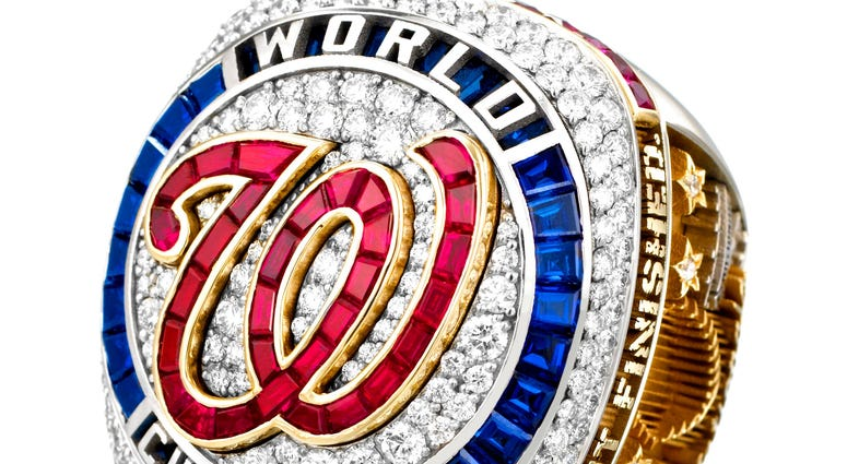 Nationals World Series Rings