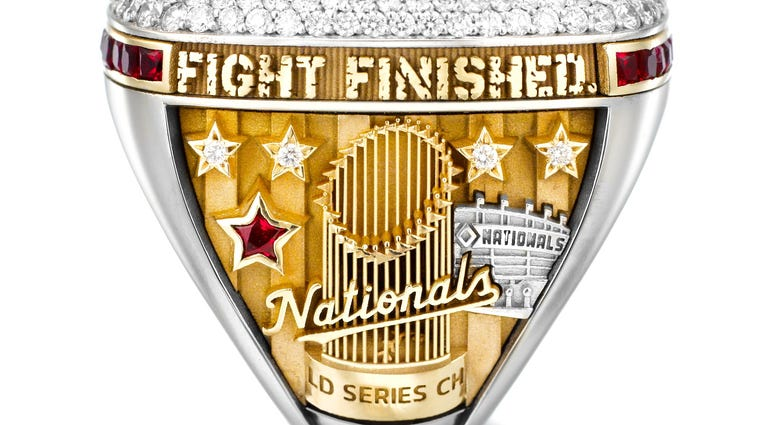 Nationals World Series Ring Fight Finished