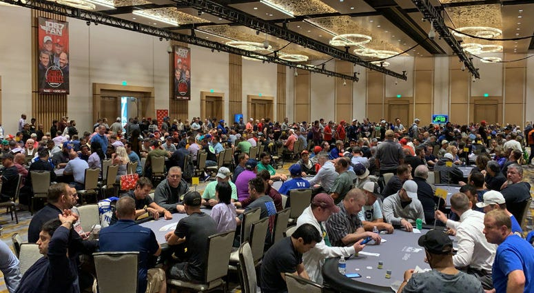 It was a packed house at the Grand Ballroom at MGM National Harbor.