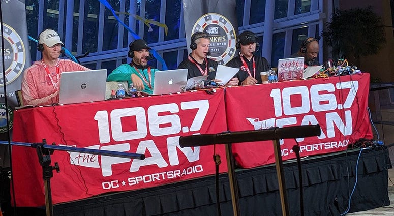 The Junks were up and at 'em Friday morning for a live broadcast at MGM National Harbor.