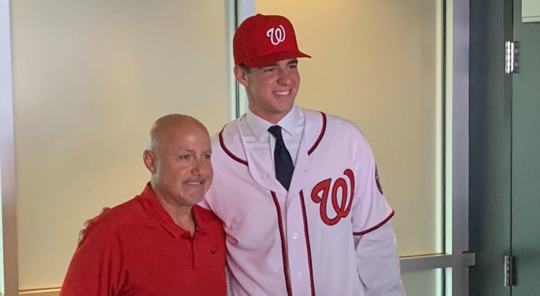 Nationals agree to terms with top pick Jackson Rutledge