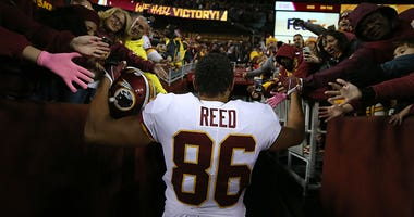 Redskins release tight end Jordan Reed