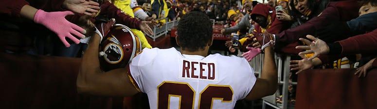 Redskins release tight end Jordan Reed