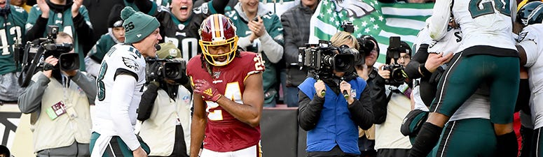 Josh Norman never matched the hype