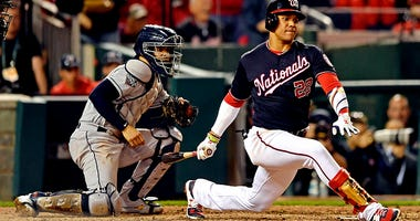 Nats' potent offense goes limp in Game 3
