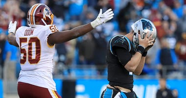 Chris Thompson explains Panthers' collapse against Redskins