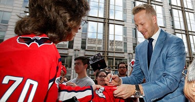 How Lars Eller became 'Tiger' to the Capitals