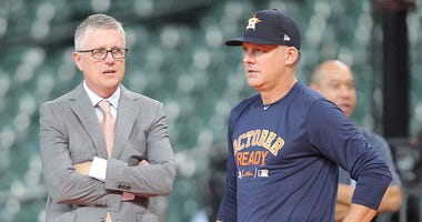 Astros fire Jeff Luhnow, A.J. Hinch amid cheating scandal