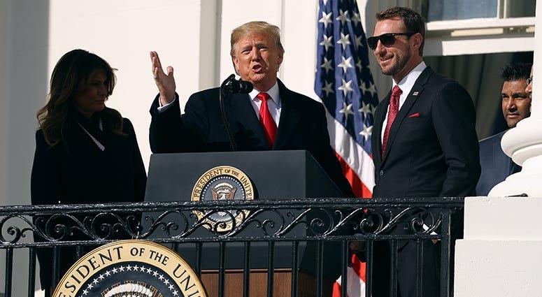 Max Scherzer – Nationals' White House Visit