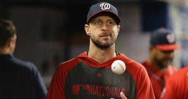 Nationals' Max Scherzer says he's starting Wild Card game