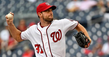 Max Scherzer hasn't been told when he'll pitch again