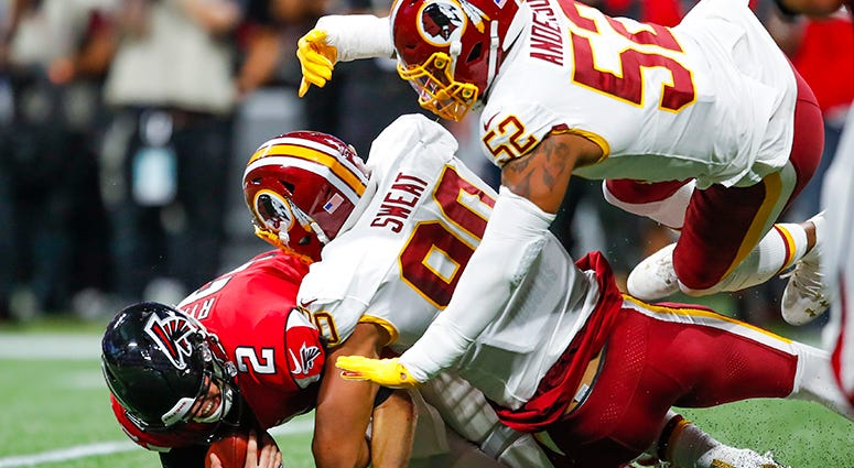 Redskins give glimmer of hope