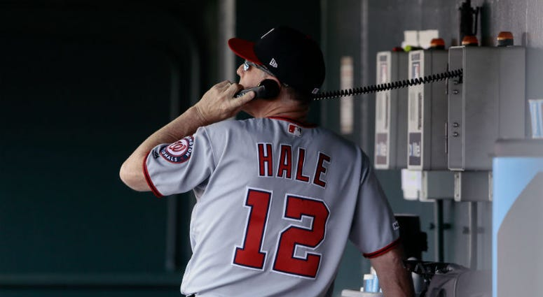 A kingdom for a Nationals reliever