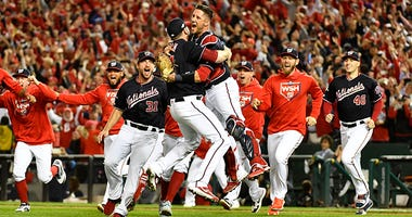 Nationals Celebrate NLCS Victory