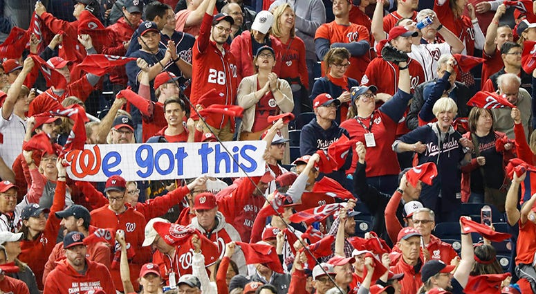 Nationals Fans NLCS Game 4