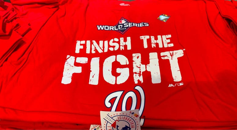 Nationals Finish The Fight Shirt