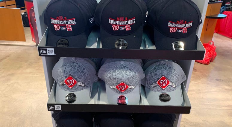 Nationals NL Championship Series Adjustable Hats