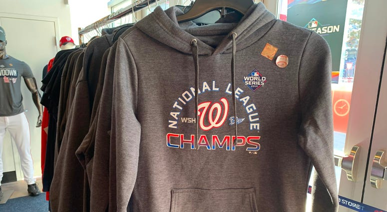 Nationals NL Champs Hoodie