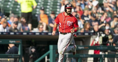 Nationals OF Adam Eaton