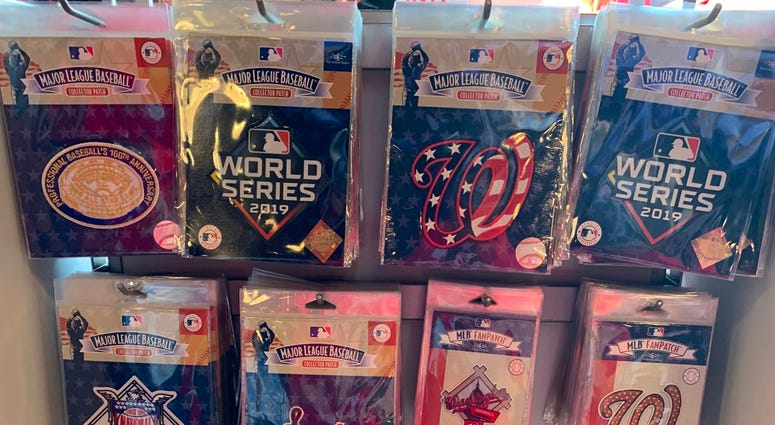 Nationals World Series Collector Patch