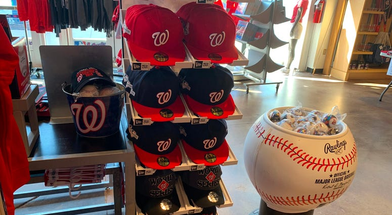 Nationals World Series Fitted Hats