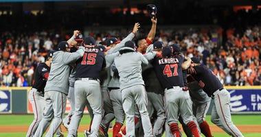 Brian Dozier, Juan Soto taunt Astros in World Series Game 7 rewatch