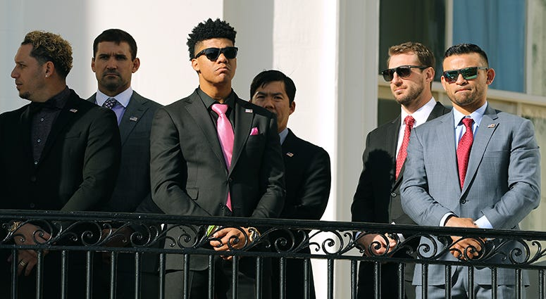 Nationals' White House Visit