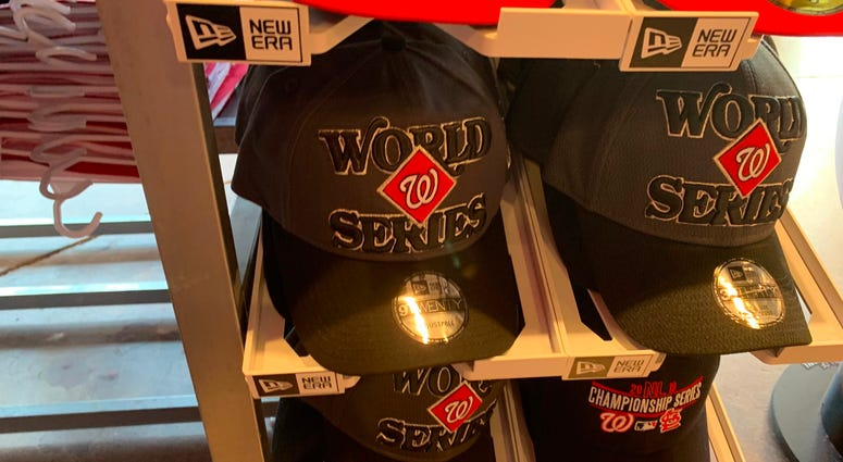 Nats World Series Hat