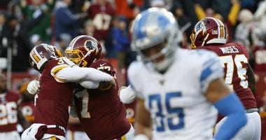 Lions fans despair after loss to Redskins