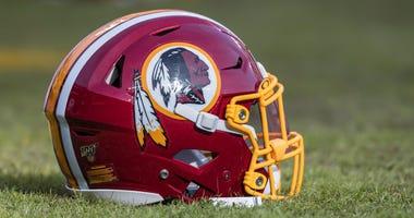 President Trump defends Redskins name