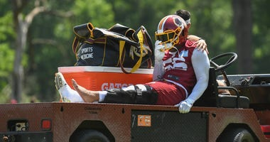 Redskins realistic about chances of Reuben Foster recovery
