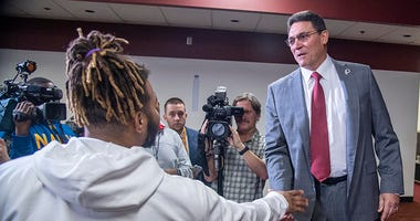 Ron Rivera won Day 1 at Redskins Park