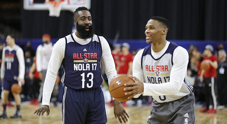 Russell Westbrook, James Harden reunite in Houston; Chris Paul to Thunder