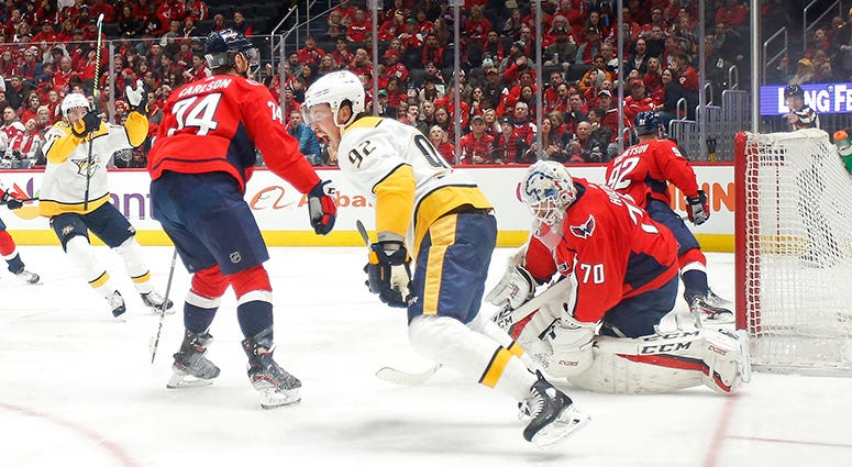 Caps power play allowing short-handed goals at alarming rate