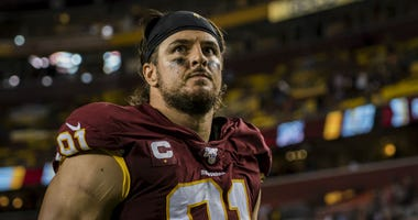Ryan Kerrigan to miss first game of nine-year NFL career