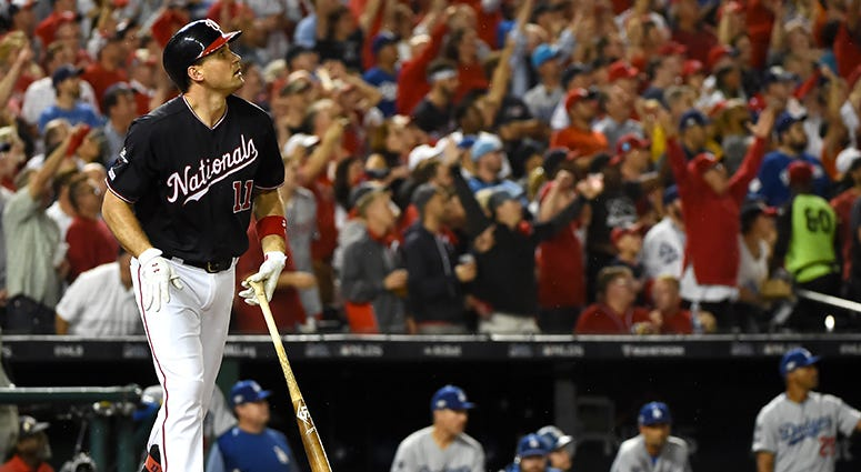 NLDS: Nationals-Dodgers Game 5 lineups