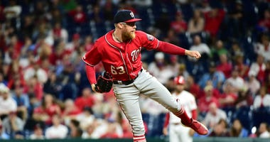 Sean Doolittle describes Nationals' sleepless night on a tarmac in Philly