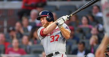 Stephen Strasburg belts 420-foot homer in 3-hit, 5-RBI hitting clinic