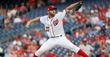 Stephen Strasburg said support from D.C. sports fans influenced his decision to re-sign with the Nationals.