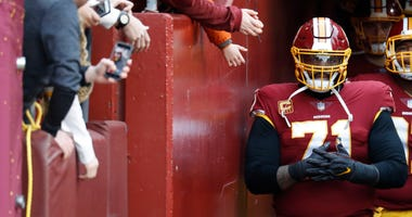 Trent Williams' agent: $16 million AAV wouldn't hold up deal