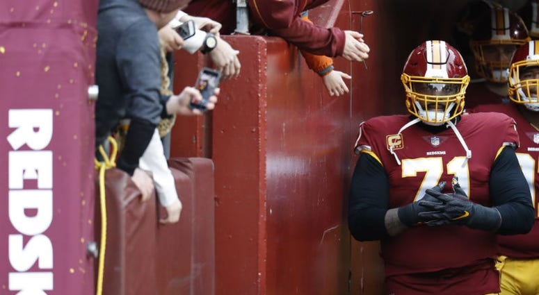 Redskins' Trent Williams sitting out is 'nonsense'