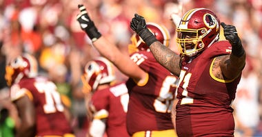 Trent Williams, Ron Rivera have had 'positive' discussions