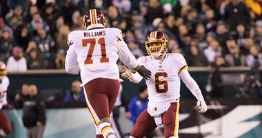 Money probably smooths things over with Trent Williams