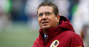 What has Redskins owner Dan Snyder said about the team's name in the past?