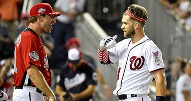 Buckle Up: Max Scherzer will start in Bryce Harper's return to Nationals Park.
