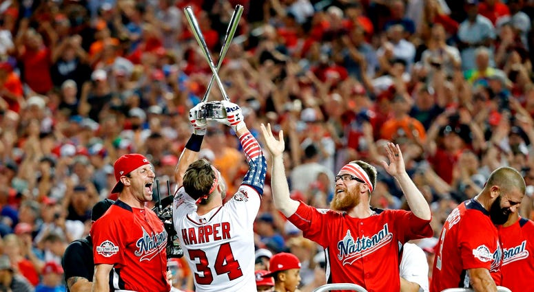 Bryce Harper Home Run Derby