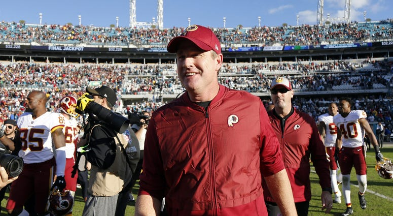 Jay Gruden told he'll be back as Redskins coach in 2019